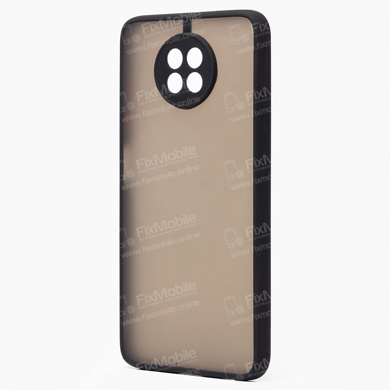 Чехол-накладка PC041 для Xiaomi Redmi Note 9T (черная)
